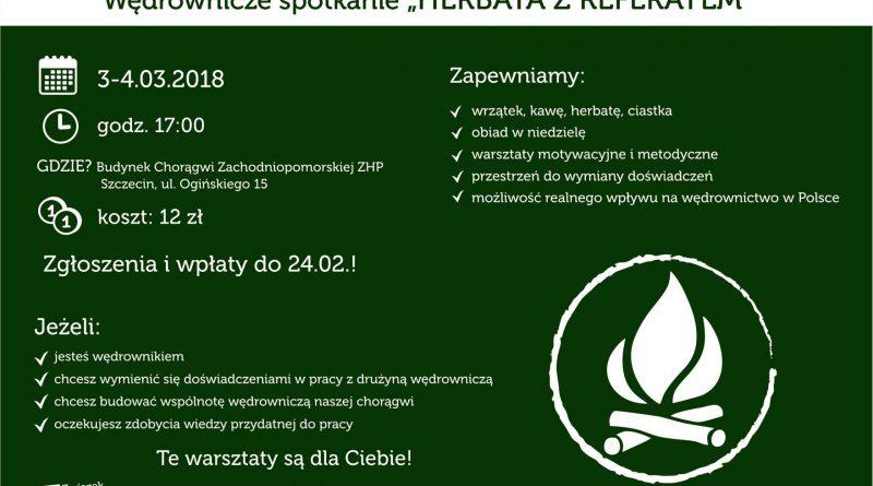 """Wędrownicze Spotkanie """"HERBATA Z REFERATEM"""""""
