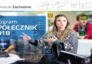 """Zakończyliśmy realizację programu """"Społecznik 2018"""" – programu Urzędu Marszałkowskiego"""